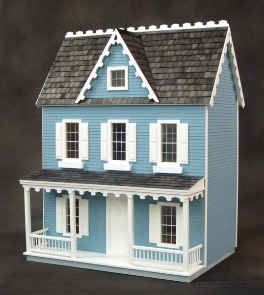 Vermont Farmhouse Jr Dollhouse Kit The Magical Dollhouse