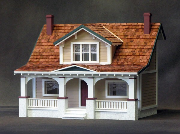 1 2 scale classic bungalow