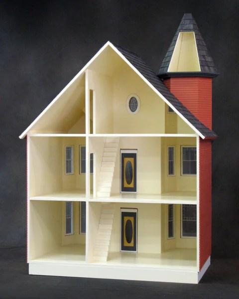 The Painted Lady Dollhouse Kit  The Magical Dollhouse