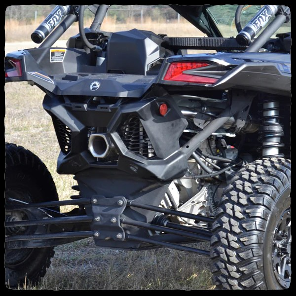 can am maverick x3 turbo full single exhaust system