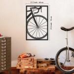 Bicycle Wheel Metal Wall Art Colorart Apt216 Artepera
