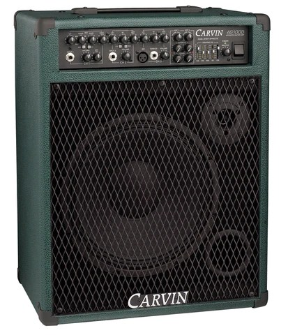 Carvin AG100D 100W Acoustic Guitar Amp with Digital Effects