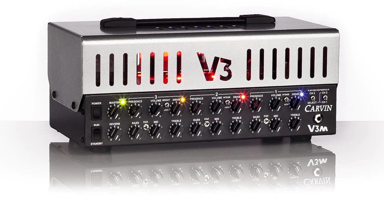 carvin v3m micro series tube guitar amplifiers [ 1333 x 750 Pixel ]