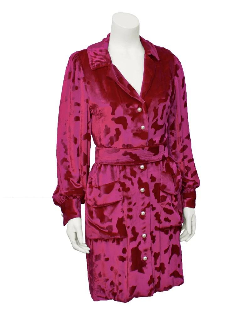 Velvet Pink Dress Shirt