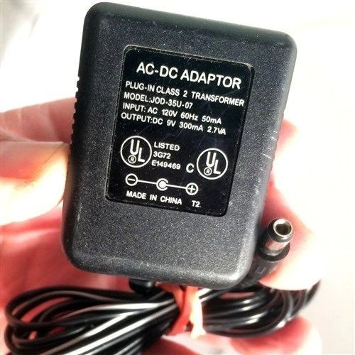 JOD 35U 07 OEM Power Supply ACDC Adapter 9V 300mA Plugin Replacements