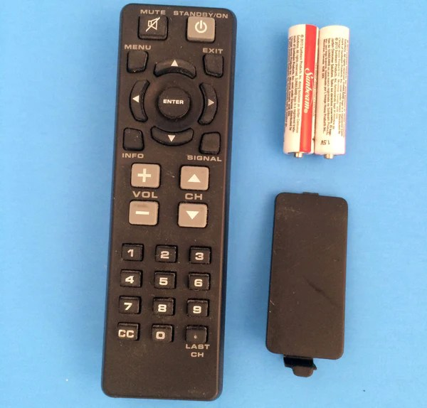 TV Remote Control No brand name UM4AAA IECR03 XY06