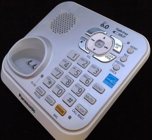 Panasonic KXTG9341S Cordless Phone Answering Machine MAIN