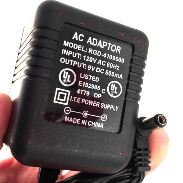 RGD4109500 AC DC OEM Power Supply Adapter Charger 9V DC