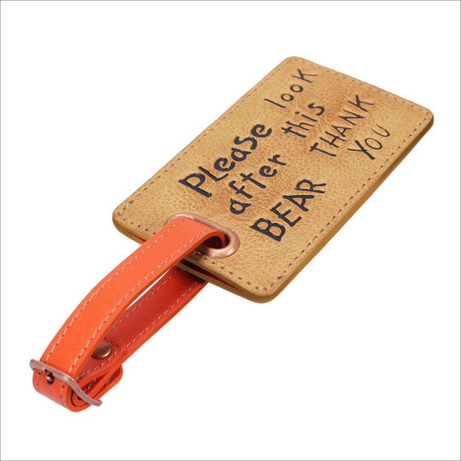 Luggage Tag - Please Look After This Bear – Paddington Store