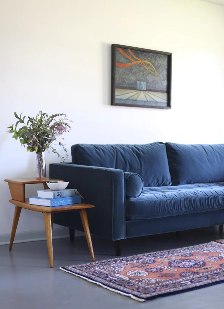 blue furniture living room beautiful pictures ideas working with article for the gallery amelia stop in and try it out yourself because while sven sofa is pretty s also so comfortable wait until you see what i have planned next