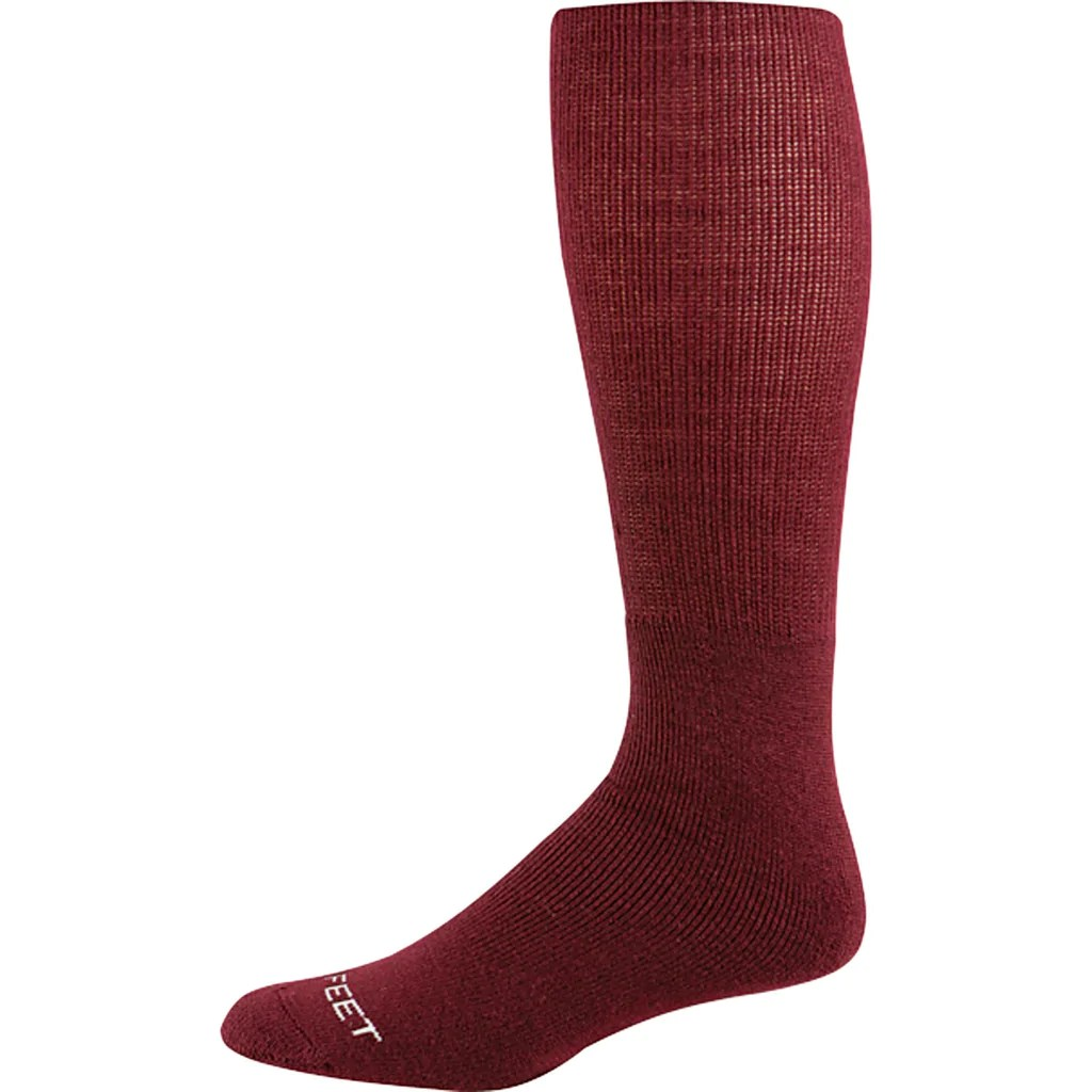 Maroon Baseball Socks Sports