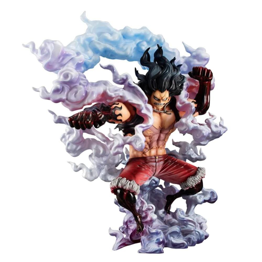 One piece luffy gear 4th boundman ver. POP Maximum One Piece-Gear 4th Snakeman M.Luffy- - The ...
