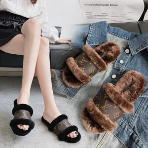 Luxury Fur Toeless Slippers