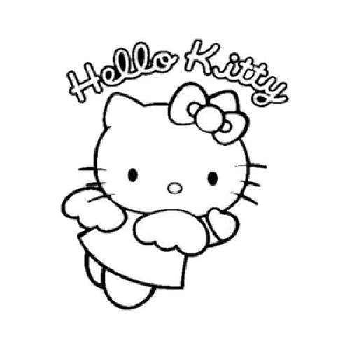 Hello Kitty Punisher Skull Decal Sticker