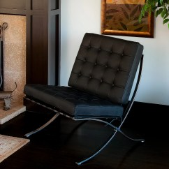 Modern Leather Accent Chairs Chicco High Chair Straps Instructions Pavilion Black  Nhmodern