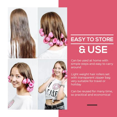 silicone hair curlers reviews