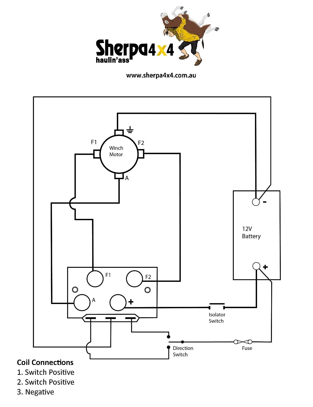 ironman 4x4 winch wiring diagram
