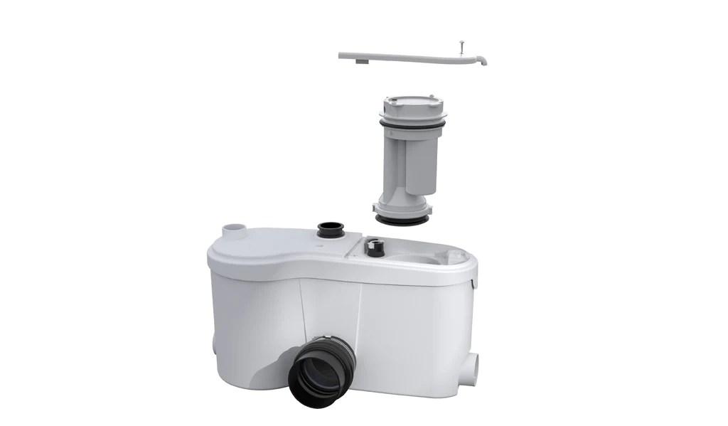 Sanigrind Saniflo Depot Upflush Toilets