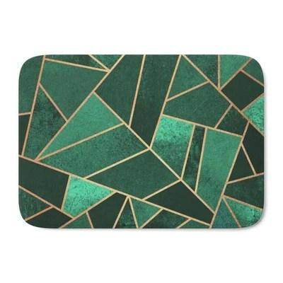 tapis de bain vert tapis de bain