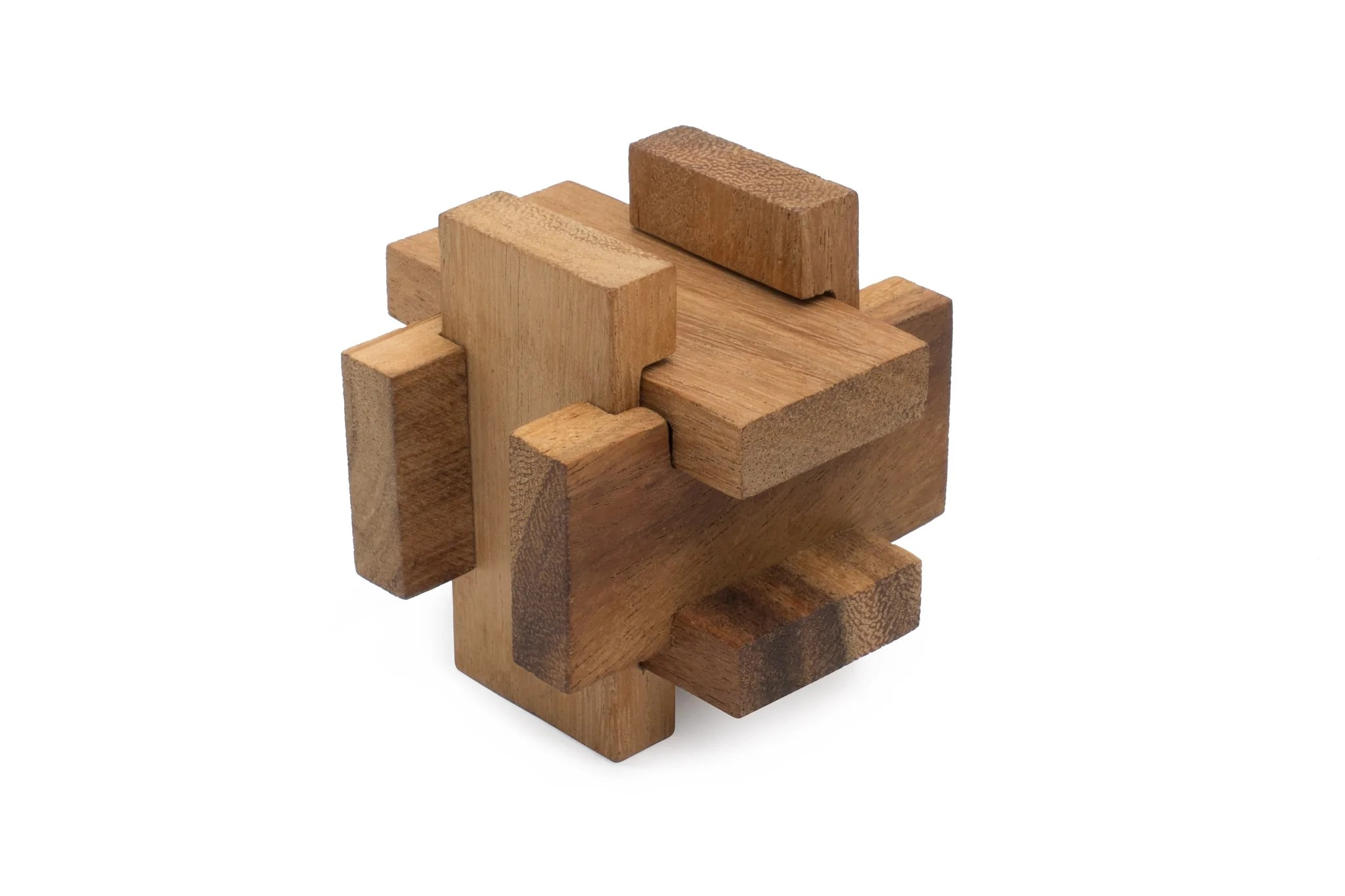 Solution 6 Piece Wood Star Puzzles - Year of Clean Water