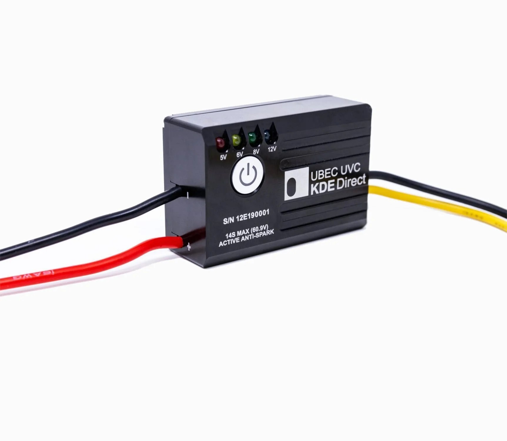 small resolution of kde ubecuvc battery eliminator circuit ubec for multi and single rotor