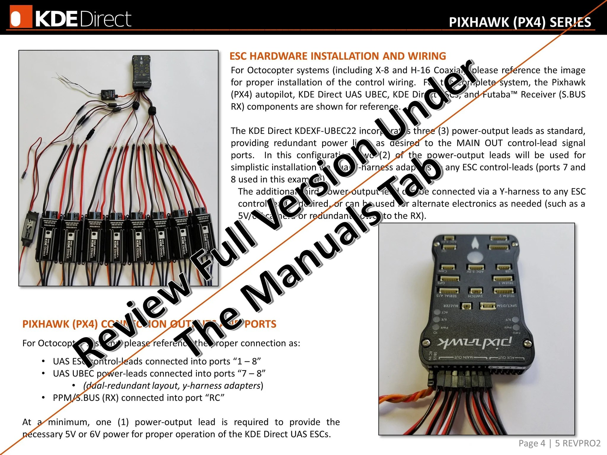medium resolution of  kdexf uas55 55a electronic speed controller esc for electric multi rotor