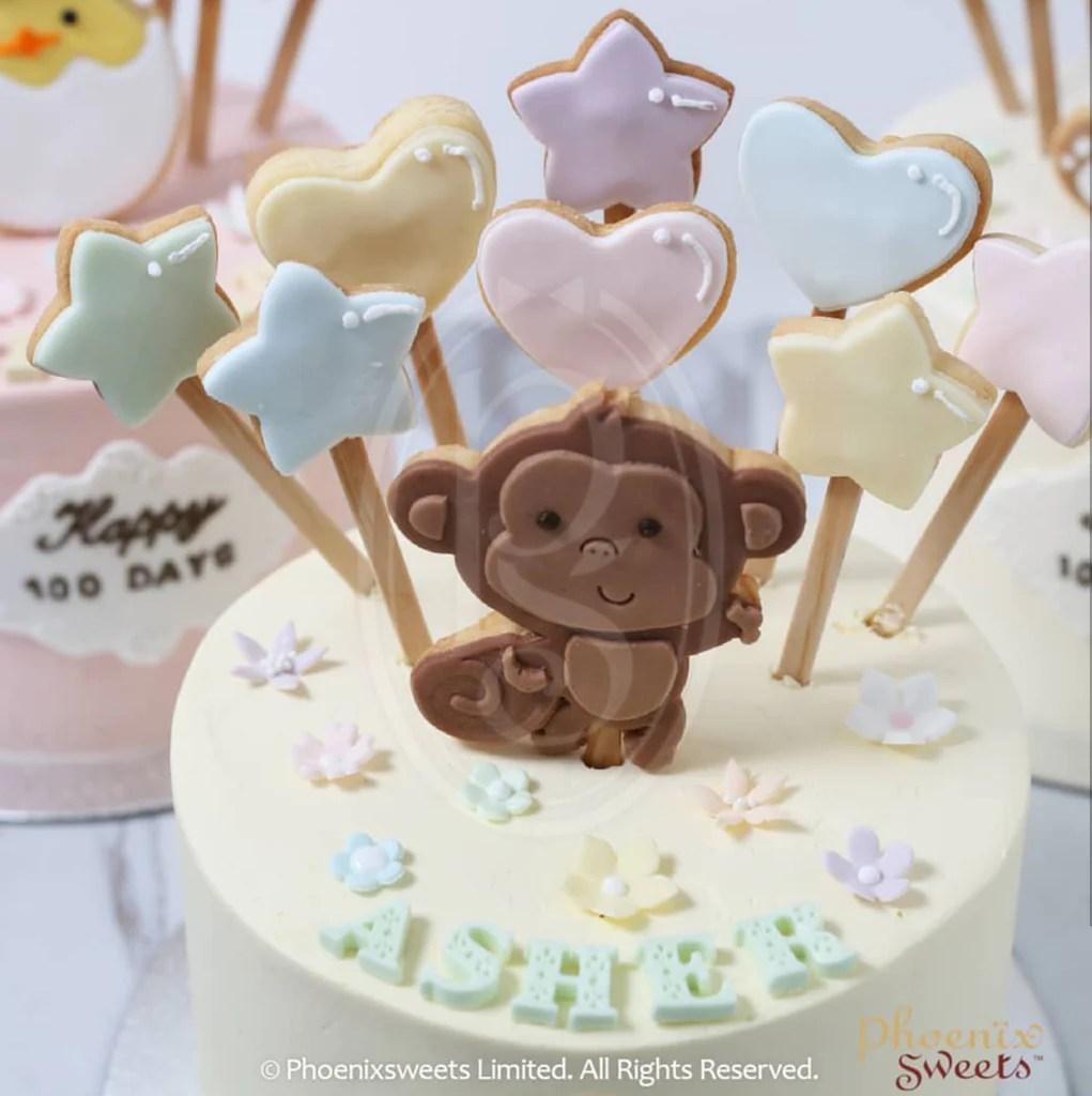 Phoenix Sweets 訂購 生日蛋糕 Birthday Cake 香港 Hong Kong 牛油忌廉蛋糕 - Little Animal 網上蛋糕店 Online Cake Shop Butter Cream ...
