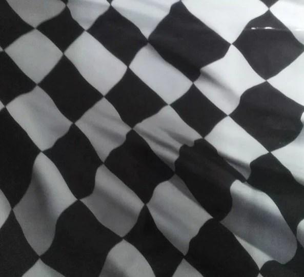 Black And White 24 Flag