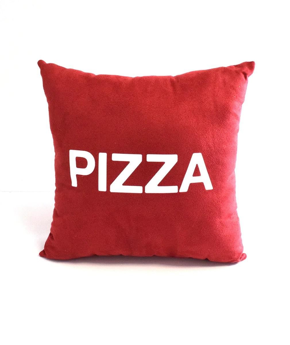 pizza john throw pillow