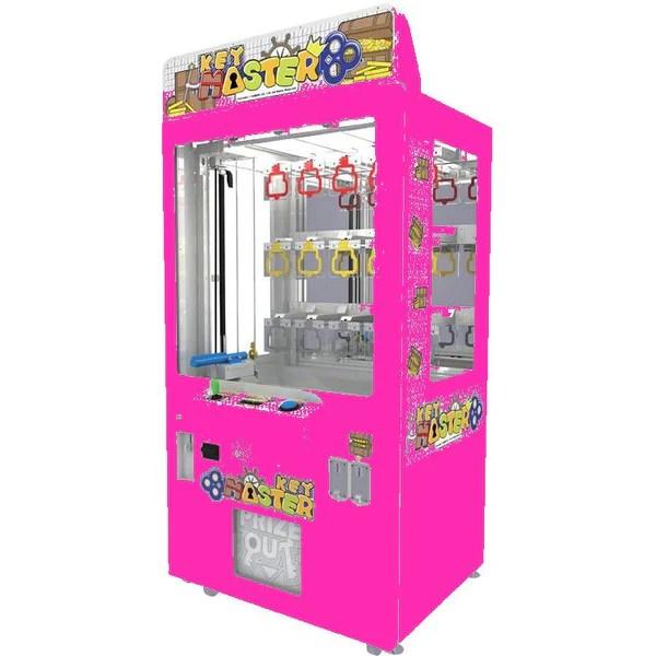 Key Master Colors Prize Redemption Machine