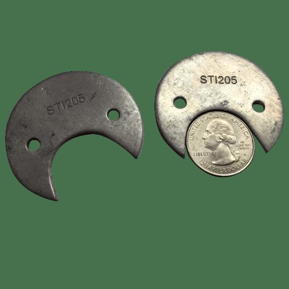 25 Cent Coin Disc For Seaga Mechanical Vending Machine