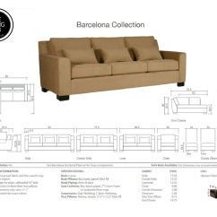 Barcelona Sofa Discount The Living Lab Huge Collection Of Designer Download Specification Sheet Here