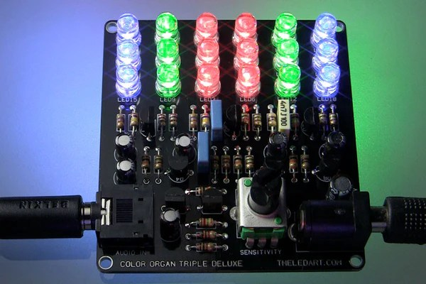 Color Organ Light Schematic