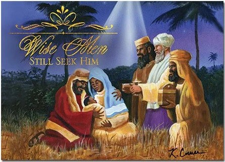 African American Christmas Cards AAE C918 Its A Black