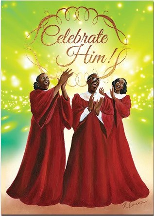 African American Christmas Cards AAE C924 – It's A Black