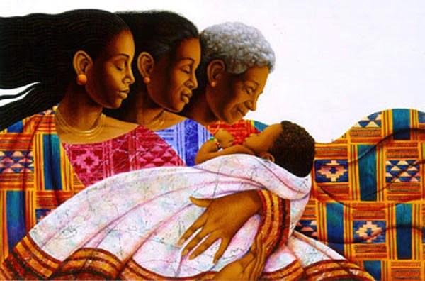 Christmas African American Artwork