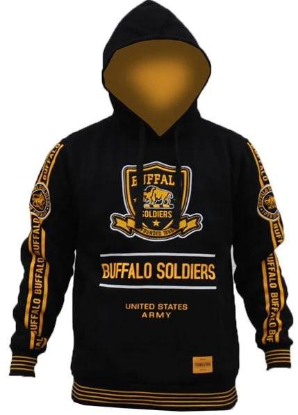 Buffalo Soldiers Jacket Hoodie BHB Its A Black