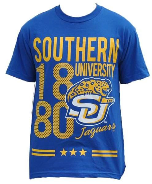 Southern University T Shirt Blue Its A Black