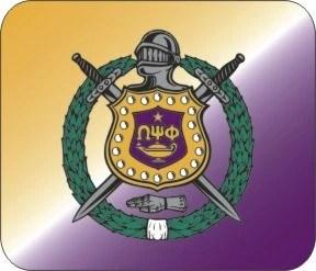 Official Omega Psi Phi Shield