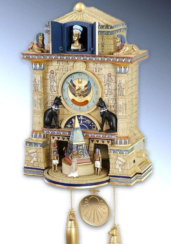 Ancient Egyptian Cuckoo Clock It S A Black Thang Com