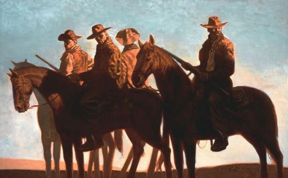 Outlaws 34x21 Limited Edition Kadir Nelson Its A
