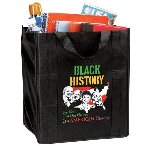 Black History Tote Bag Its Not Just Our History Its