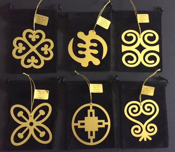 Adinkra Snowflake Ornaments Set Of 6 Its A Black