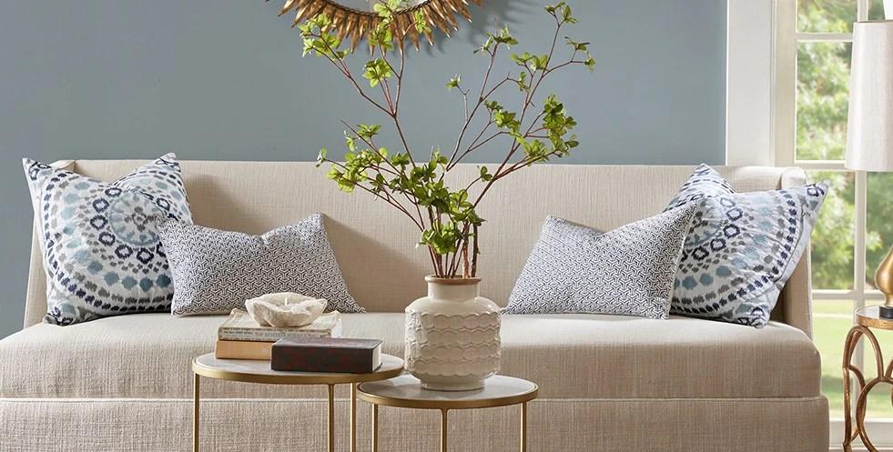 Where to find unique decorative designer throw pillows
