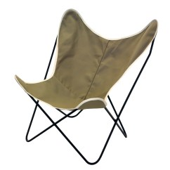 Target Sling Chair Tan Covers To Hire Liverpool Steele Butterfly British Canvas