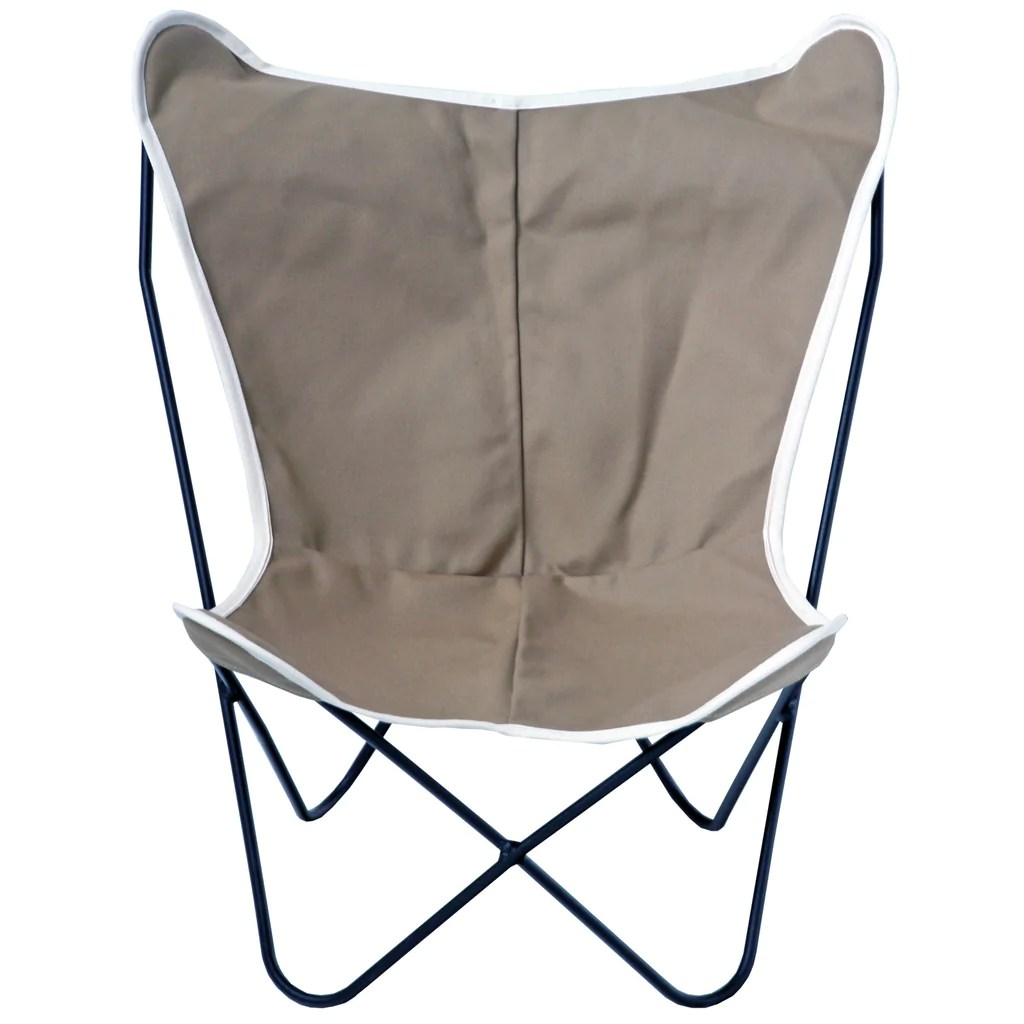 target sling chair tan best inexpensive ergonomic office chairs half pint butterfly british steele