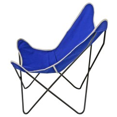 Canvas Sling Chair Hanging For Two Steele Butterfly Cobalt Basket Corp