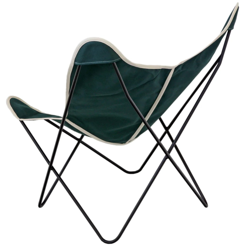 Canvas Sling Chair Steele Butterfly Sling Chair Green Steele Canvas