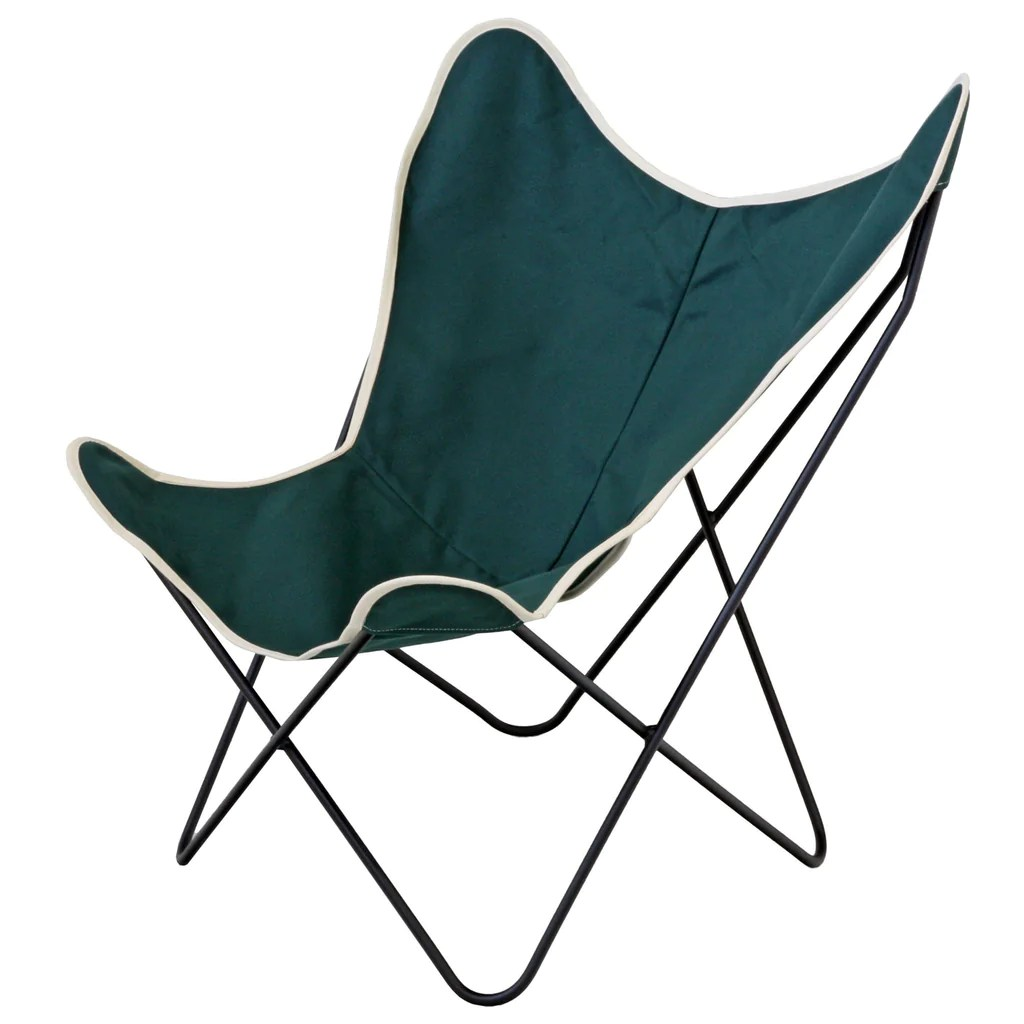 canvas sling chair wedding covers hampshire steele butterfly green