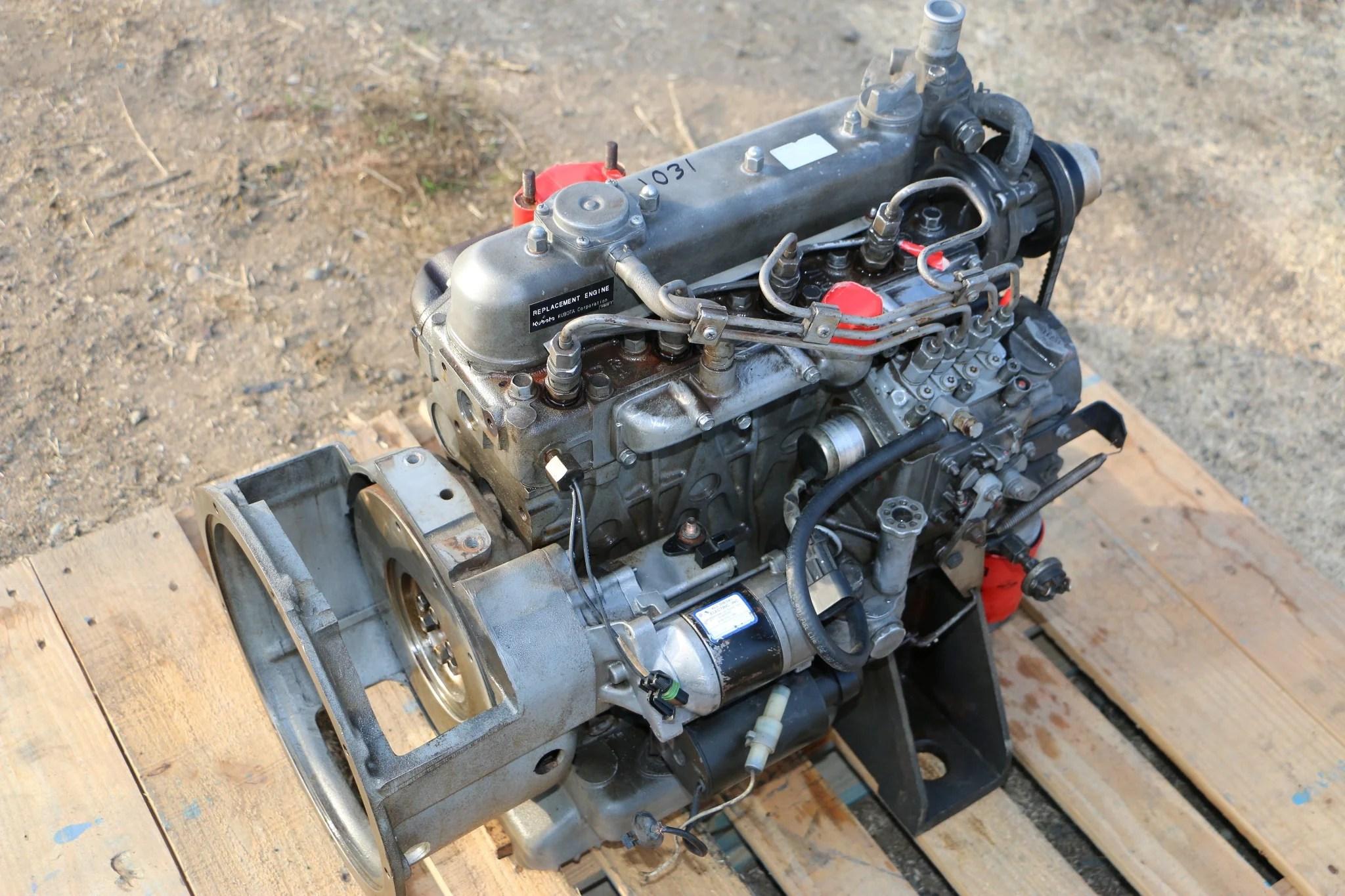kubota v1505 diesel engine motor for bobcat pump generator etc 1031 [ 2048 x 1365 Pixel ]